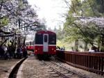 kereta api  menuju Alisan, pic diambil bulan april 2009
