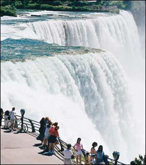air terjun niagara Bekunya Air Terjun Niagara Tahun 1911