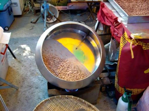 alat penggoreng kacang tanah,listrik