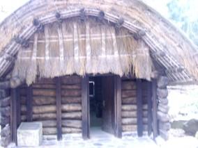 ini mungkin rumah orang aboringin jaman dulu