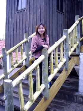 aku berada disalah satu rumah jaman dulu penduduk asli Taiwan