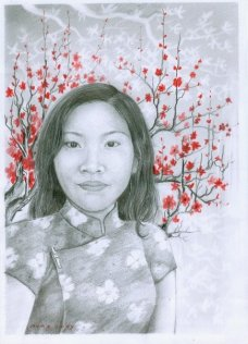 Dilukis oleh NUNG BONHAM